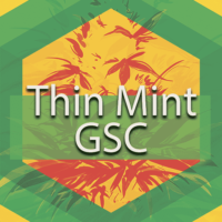 Thin Mint GSC (Thin Mints, Thin Mint Girl Scout Cookies) Logo