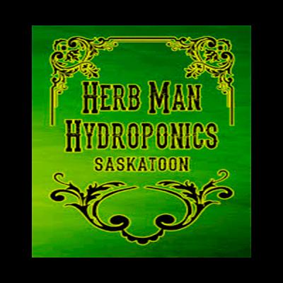 Herb-Man Hydroponic Logo
