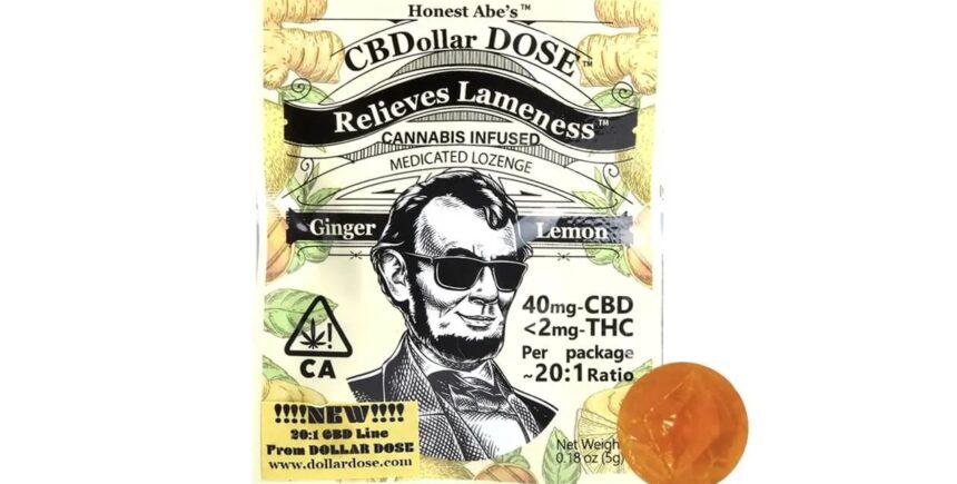 Dollar Dose CBD lozenge