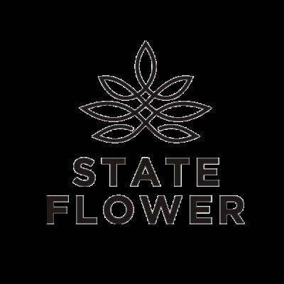 State Flower Cannabis Logo