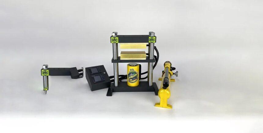 20-ton hydraulic rosin press