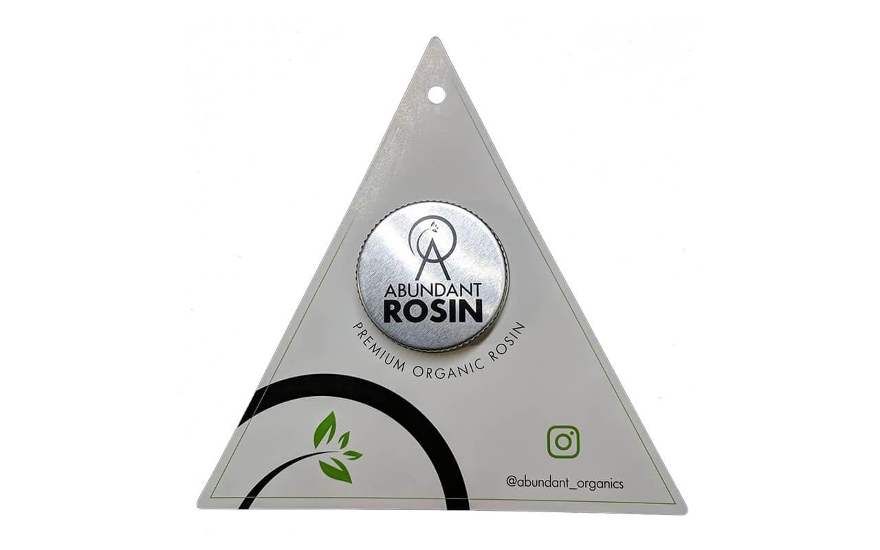 Abundant Organics rosin
