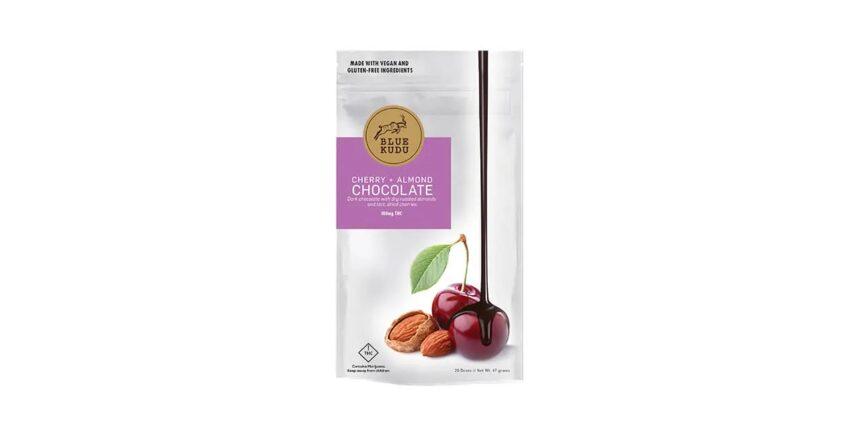 BlueKudu cherry almond dark chocolate