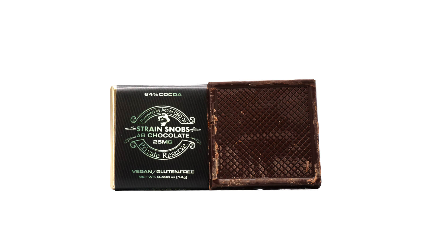 Discover CBD chocolate square
