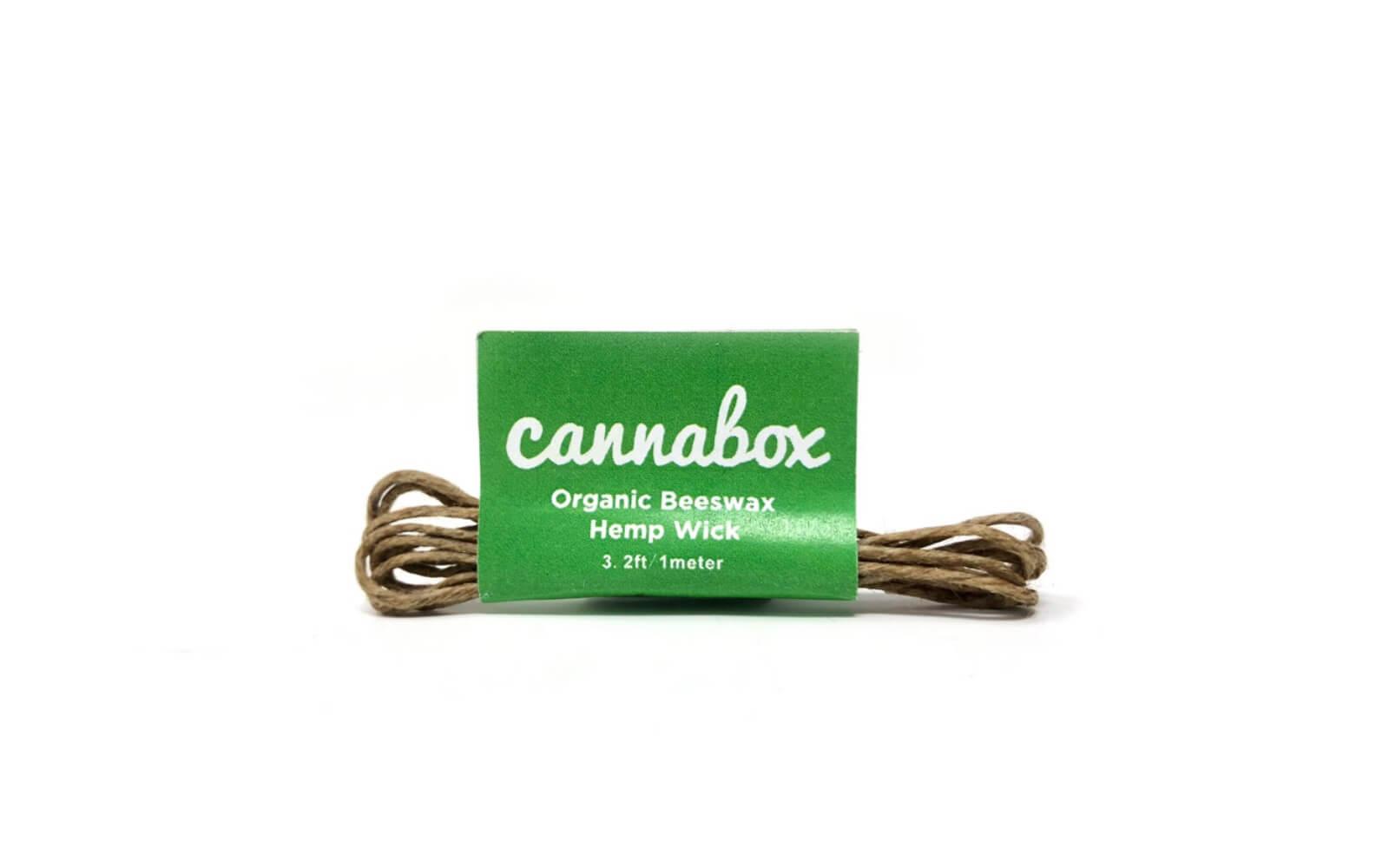 Hemp Wick by Cannabox
