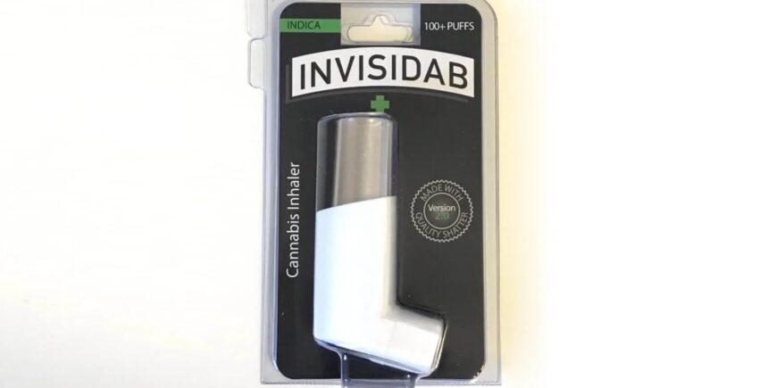 Invisidab inhaler by Berner