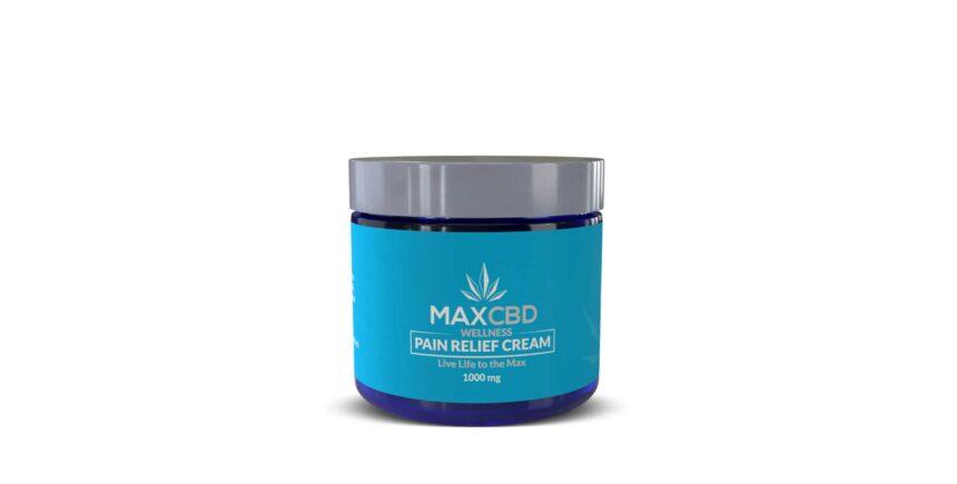 MaxCBD Pain Relief Cream