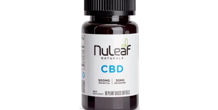Nuleaf Naturals Hemp CBD Capsules