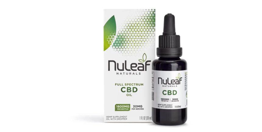 Nuleaf Naturals Hemp CBD Oil