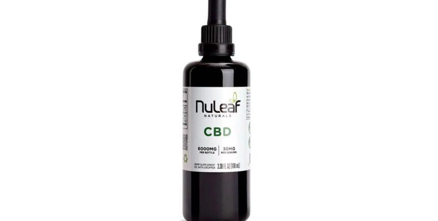 Nuleaf Naturals Hemp CBD Oil Bottle
