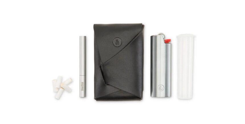 Silverstick leather case