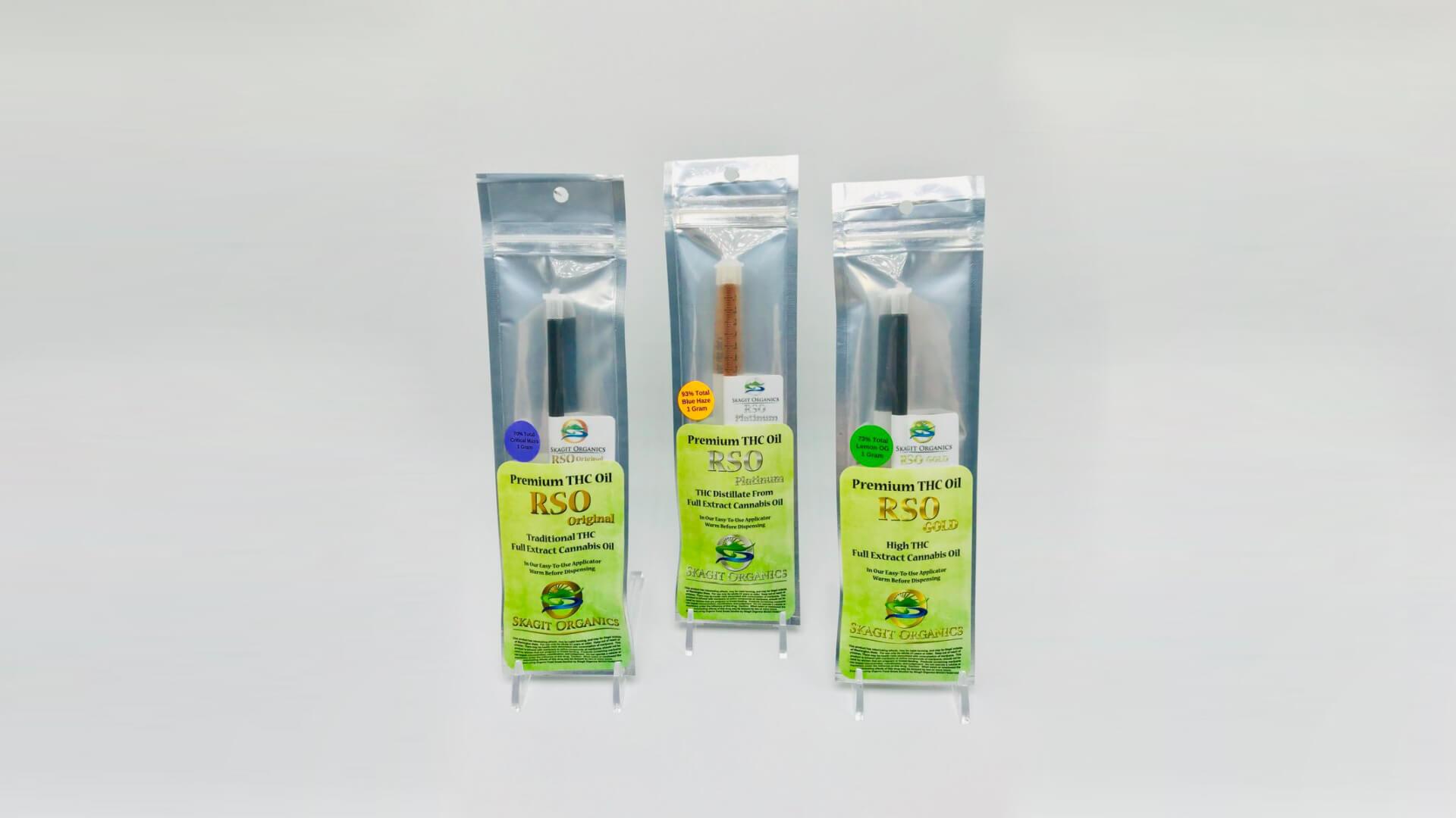 Skagit Organics RSO Oils