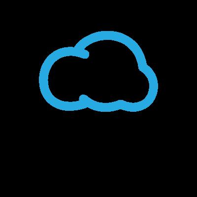 SkyBlue Vapor Logo