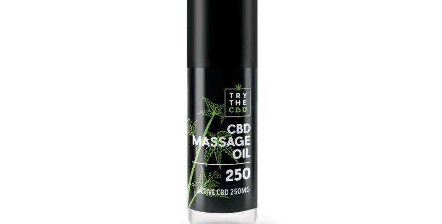 TryTheCbd massage oil