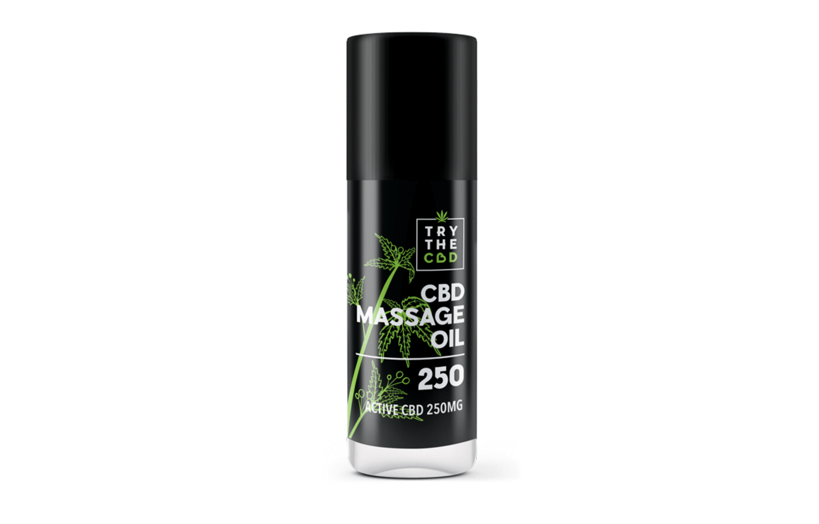 TryTheCbd massage oil