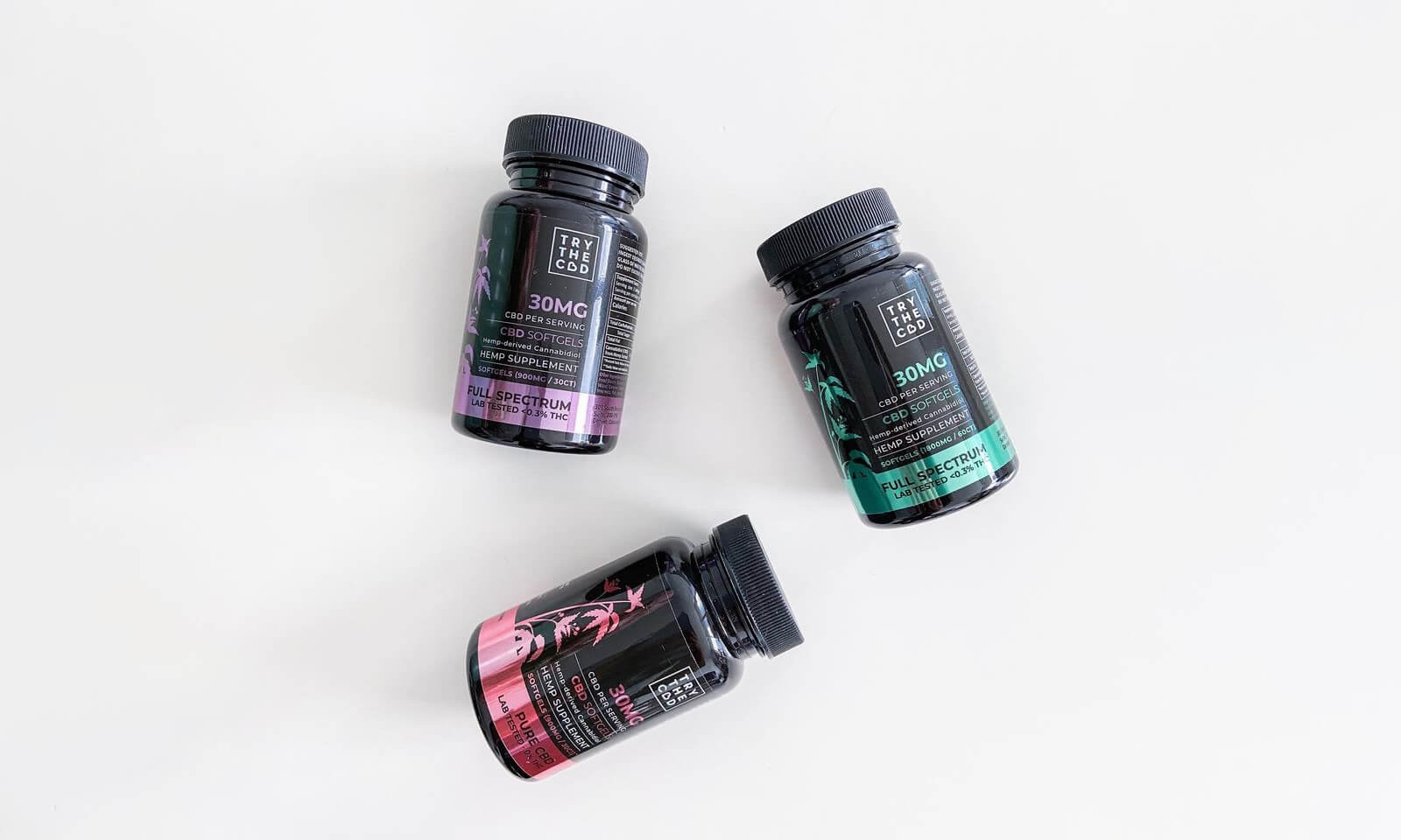 TryTheCbd softgels picture
