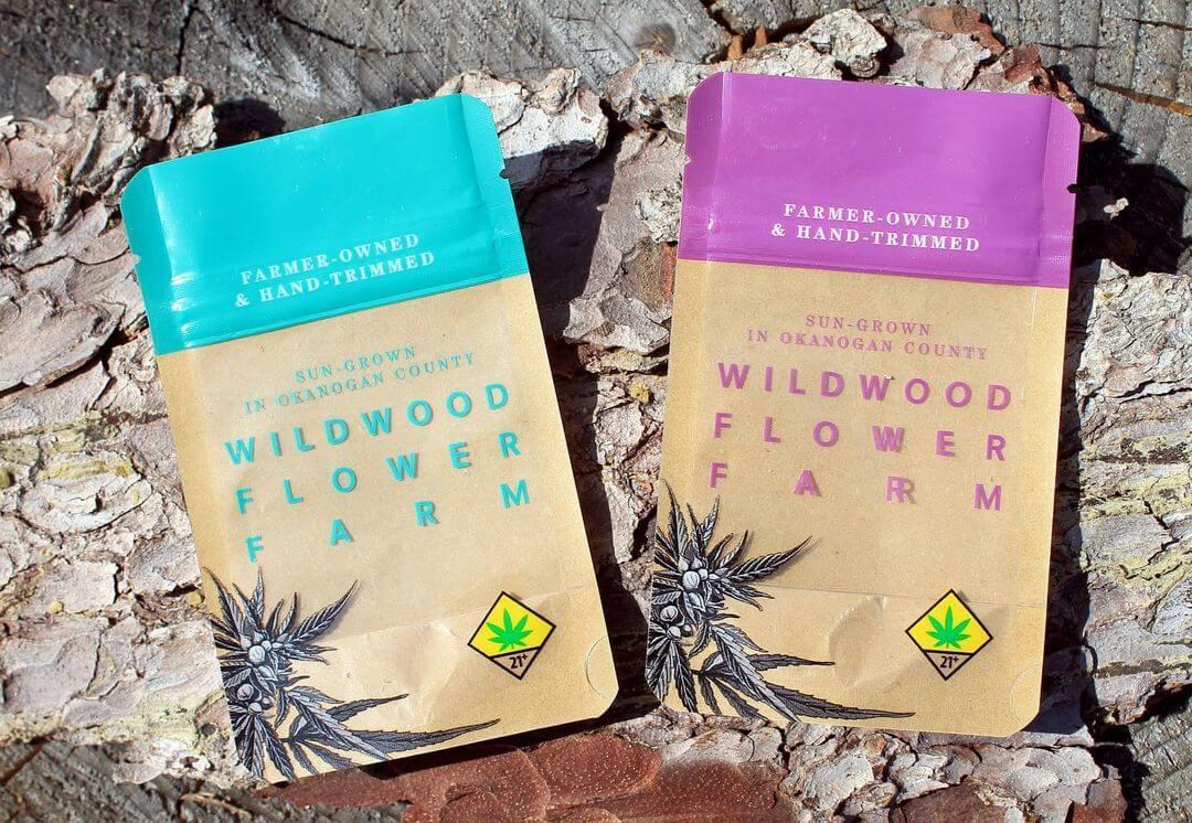 Wildwood Flower Farm cannabis packs