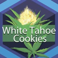 White Tahoe Cookies Logo
