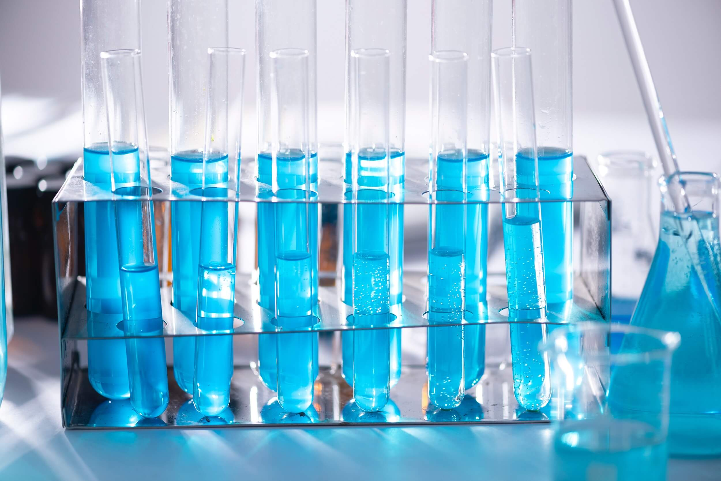 ACT Lab test tubes