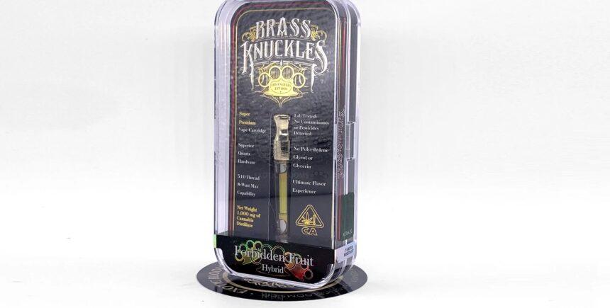 Brass Knuckles vape cartridge