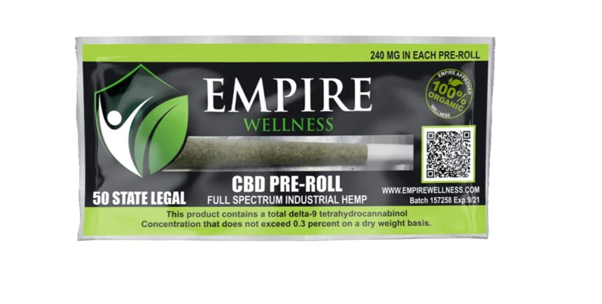 Empire Wellness CBD pre-roll