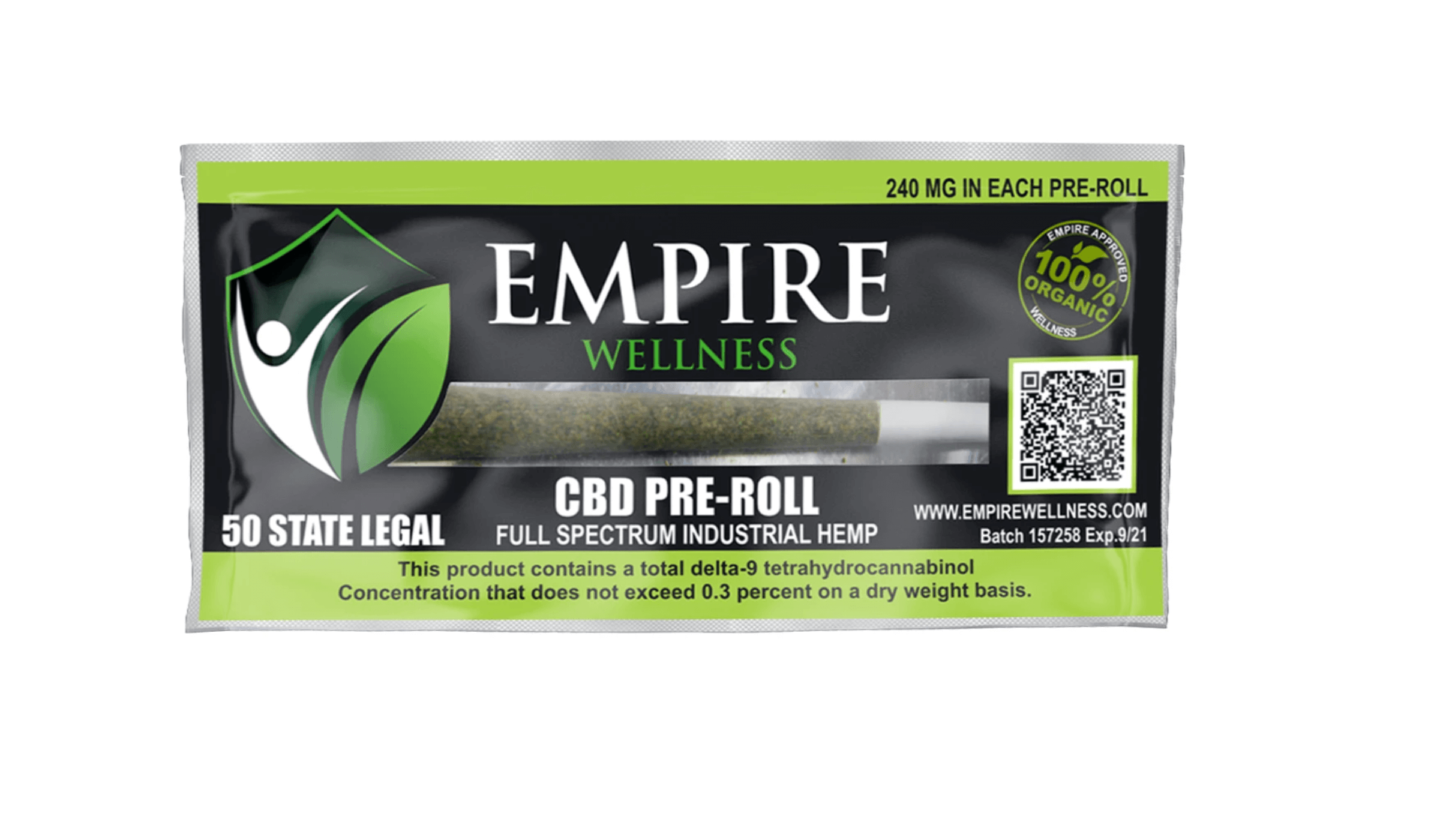 Empire Wellness CBD pre-roll
