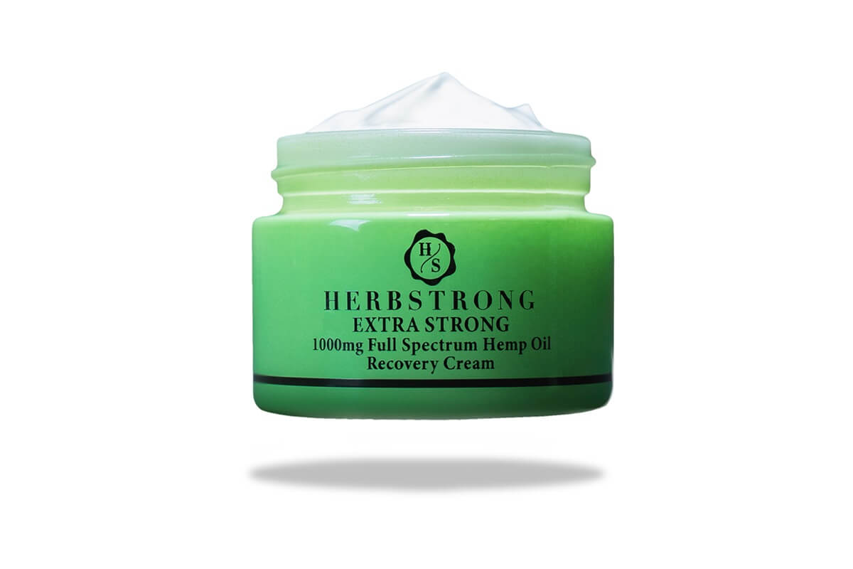 Herbstrong CBD recovery cream