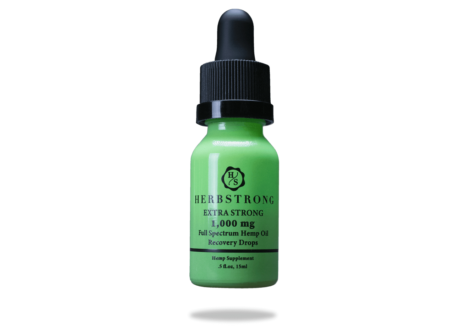 Herbstrong CBD recovery drops