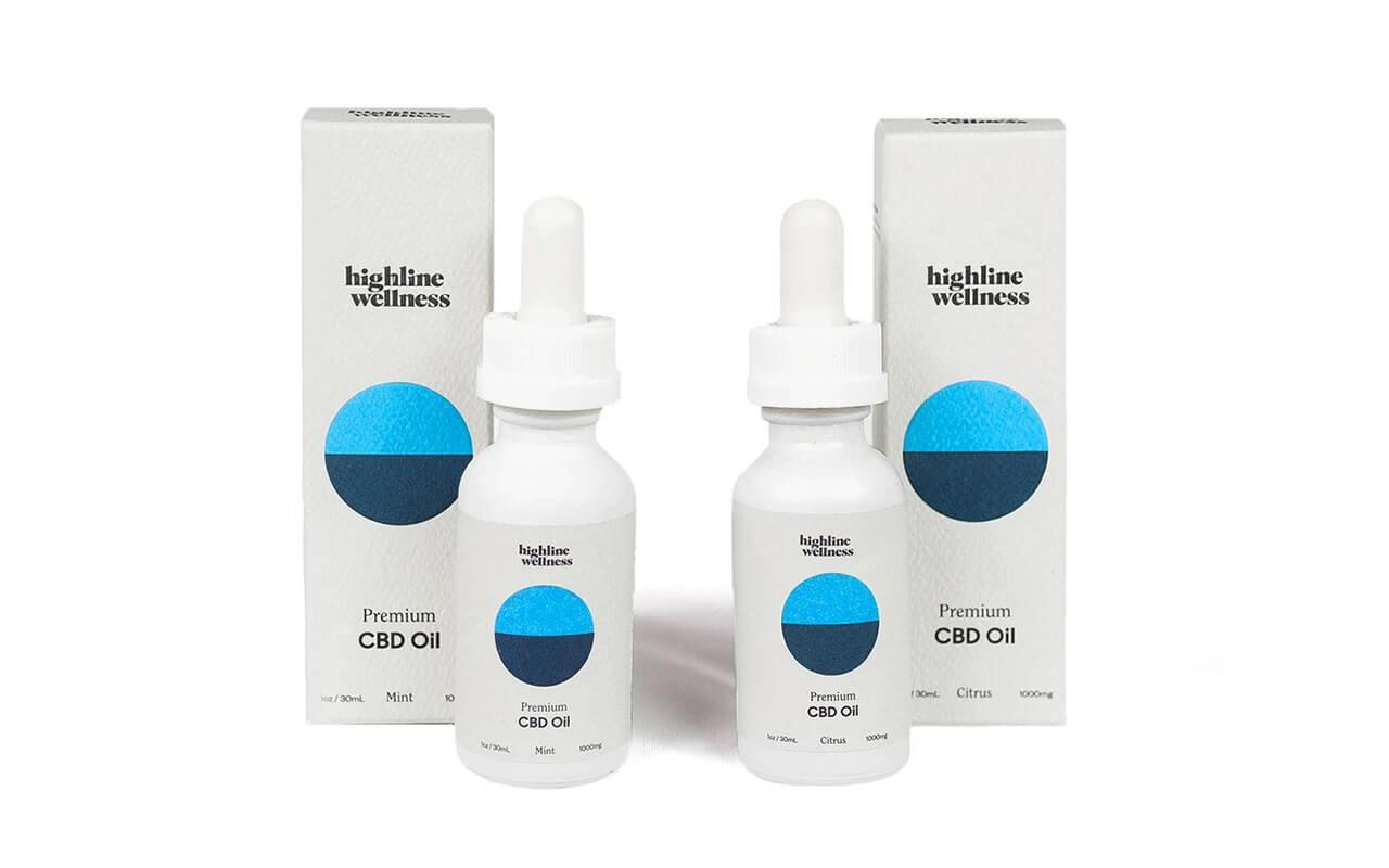 Highline Wellness CBD Oils