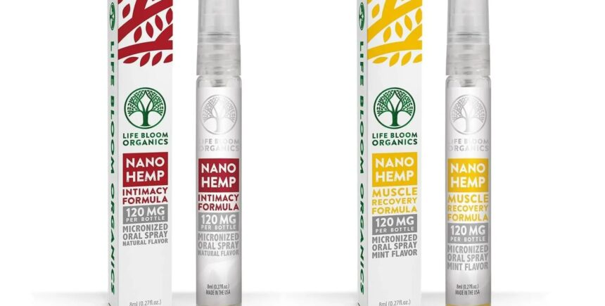 Life Bloom Organics nano hemp sprays