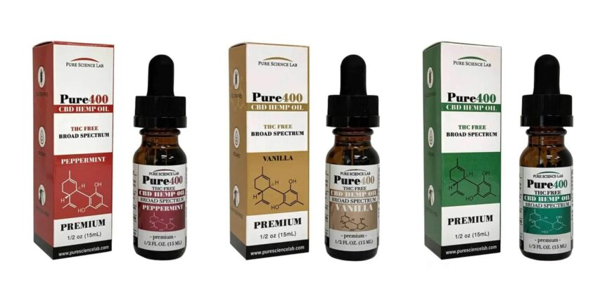 Pure Science Lab CBD oil