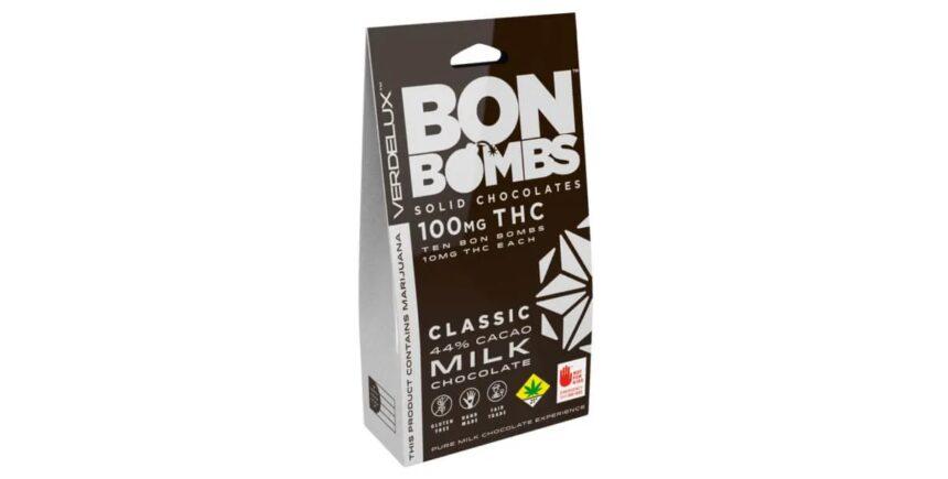 Verdelux Milk Chocolate Bon Bombs