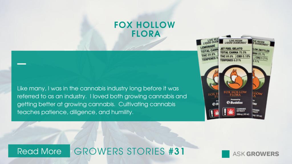 Fox Hollow Flora Interview