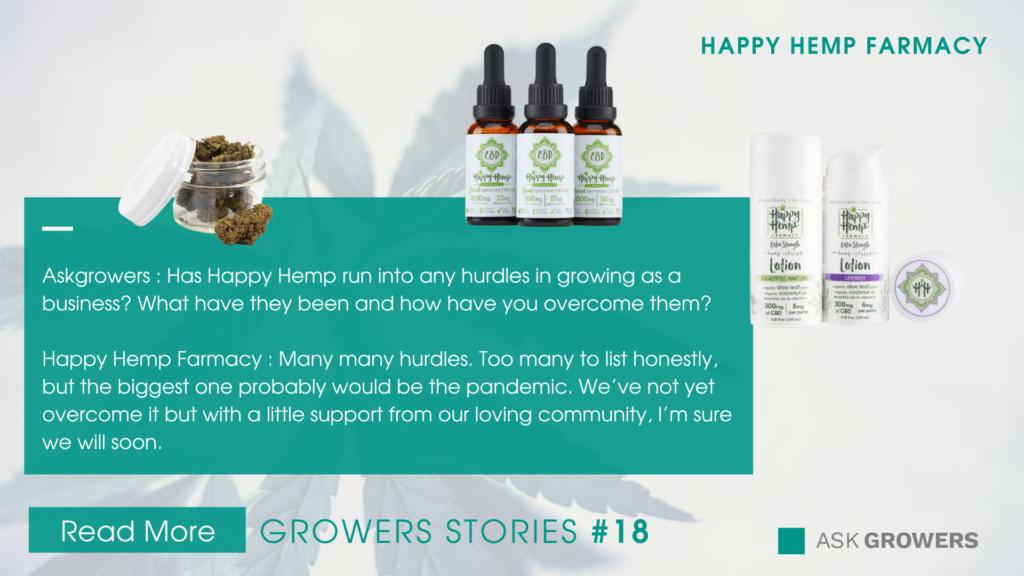 Happy Hemp Farmacy Interview