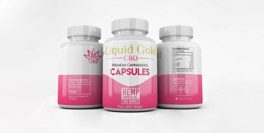 Liquid Gold Hemp Oil Capsules