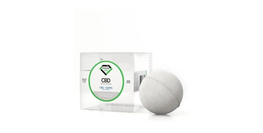 Diamond CBD Bath Bomb