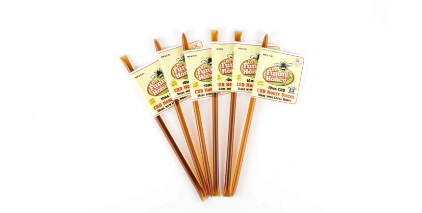 Dr. Funny's Medicated CBD Honey Sticks