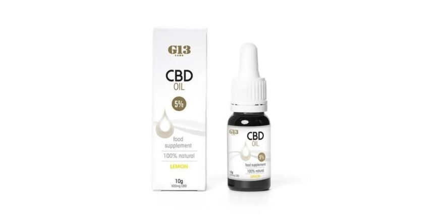 G13 Labs CBD oil