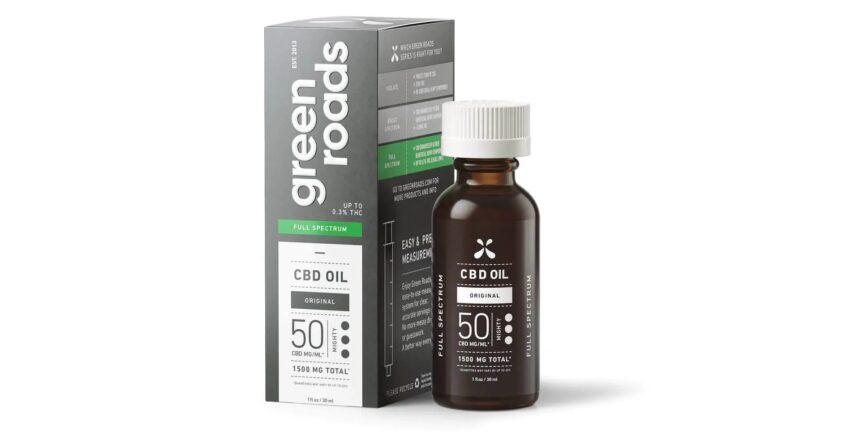 Green Roads' Original Blend CBD Oil