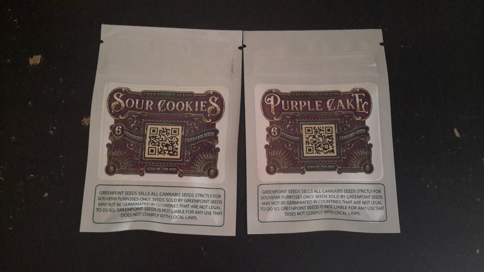 Greenpoint Seeds packs