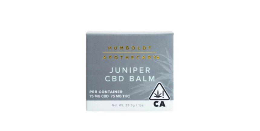 Humboldt Apothecary CBD balm