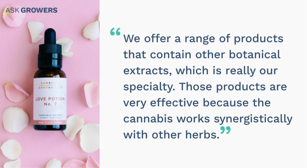 Humboldt Apothecary interview quote