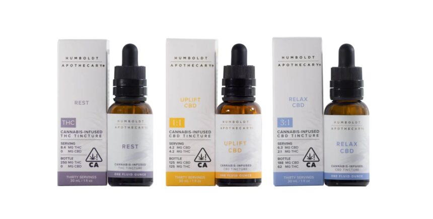 Humboldt Apothecary terpene-rich tinctures