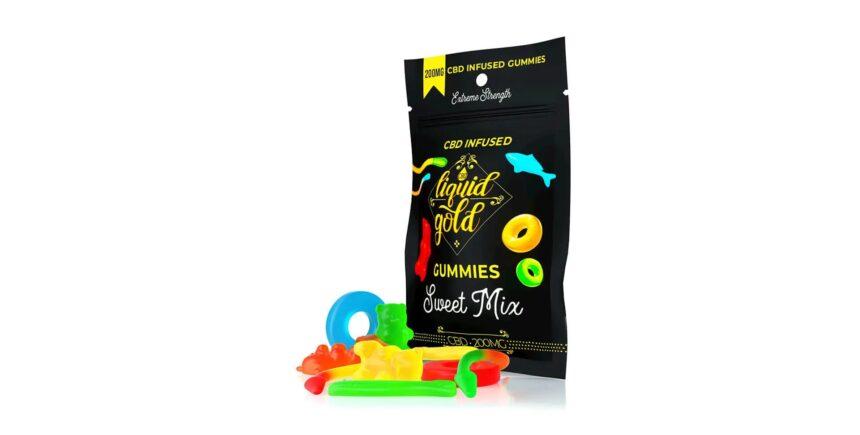 Liquid Gold Gummies Sweet Mix