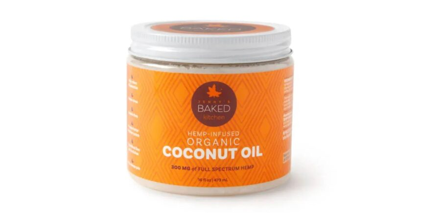 Organic Full-spectrum CBD Coconut Oil