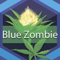 Blue Zombie Logo