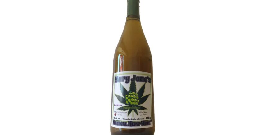 Mary Jane's Magical Hemp Wine
