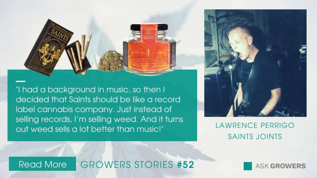 Saints Joints interview link