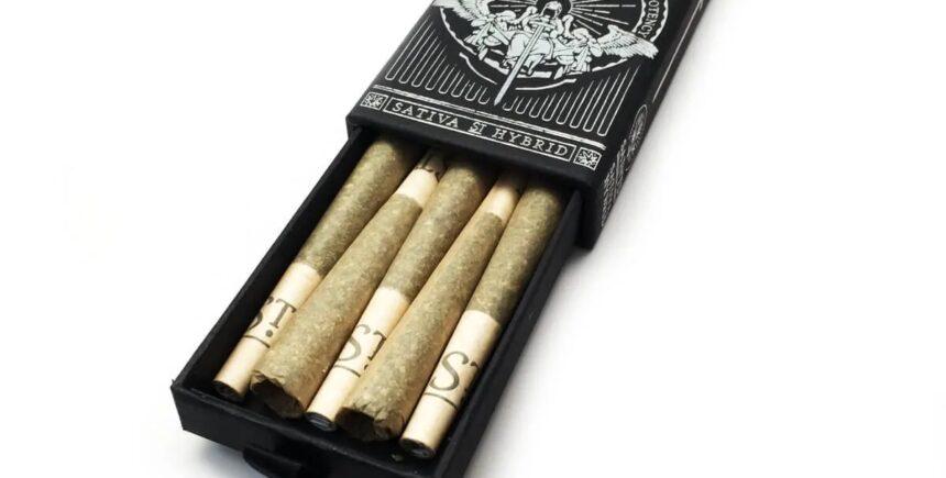 Saints Joints pre-rolls
