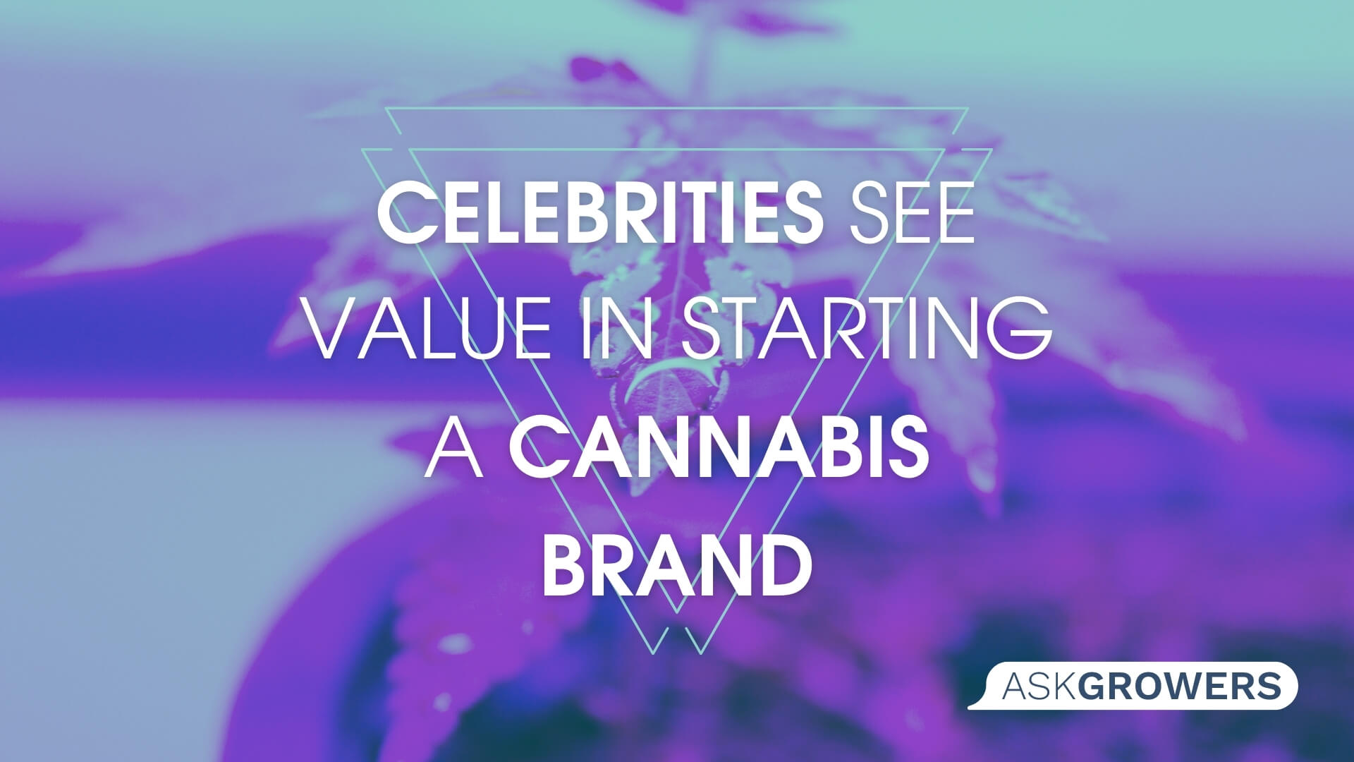 Why Do Celebrities See Value in Building Their Cannabis Brand?, AskGrowers
